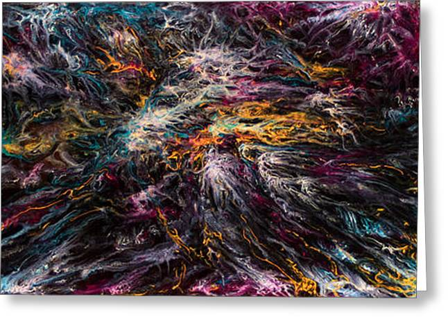 Print On Canvas Greeting Cards - Ascension No.2 Greeting Card by Todd Breitling