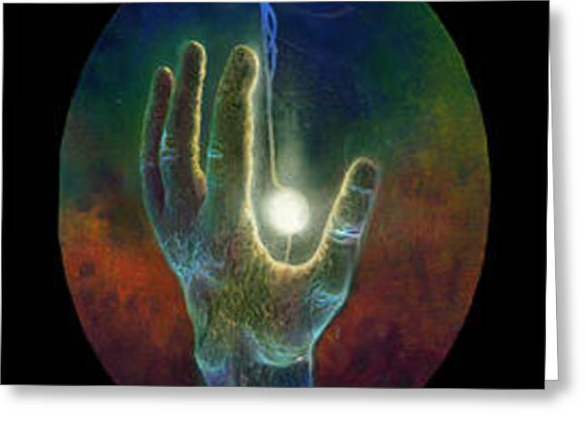 Ascension of the Soul Greeting Card by Kd Neeley
