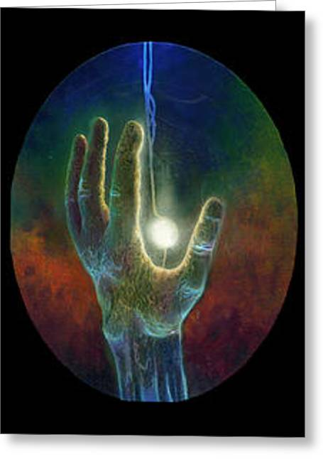 Visionary Artist Greeting Cards - Ascension of the Soul Greeting Card by Kd Neeley