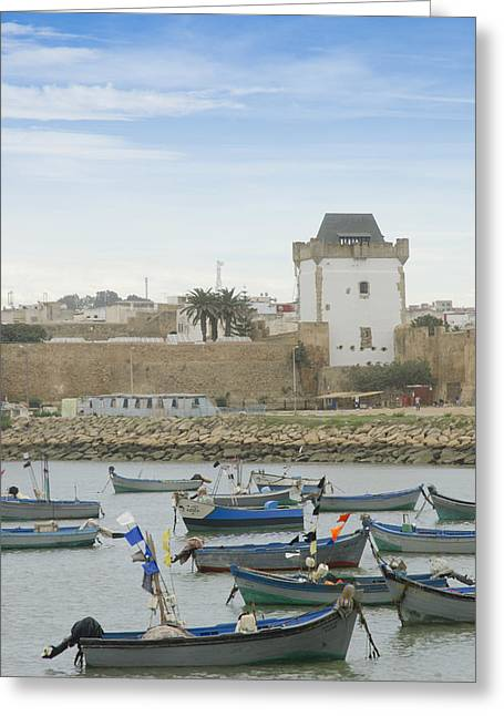 African Heritage Greeting Cards - Asilahs coast North Morocco Greeting Card by Martin Turzak