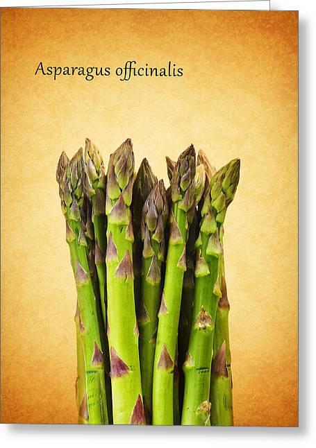 Asparagus Greeting Cards - Asparagus Greeting Card by Mark Rogan