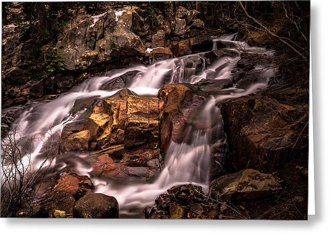 10 Greeting Cards - Aspen Falls Greeting Card by Scott McGuire