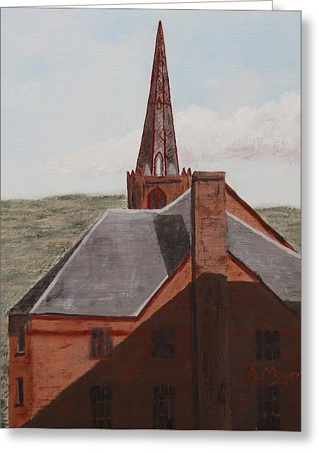 Spire Framed Prints Greeting Cards - Aspiring Greeting Card by Alan Mager