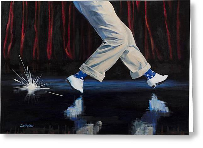 Dander Greeting Cards - Astaire Greeting Card by Loretta McNair
