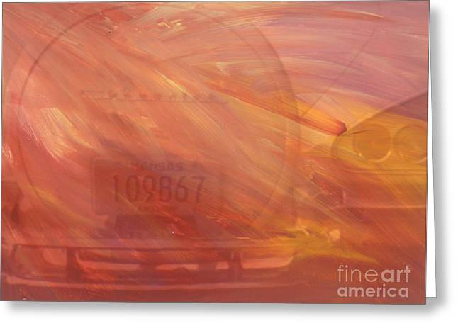 Starlet Paintings Greeting Cards - Asteroid Greeting Card by PainterArtist FIN