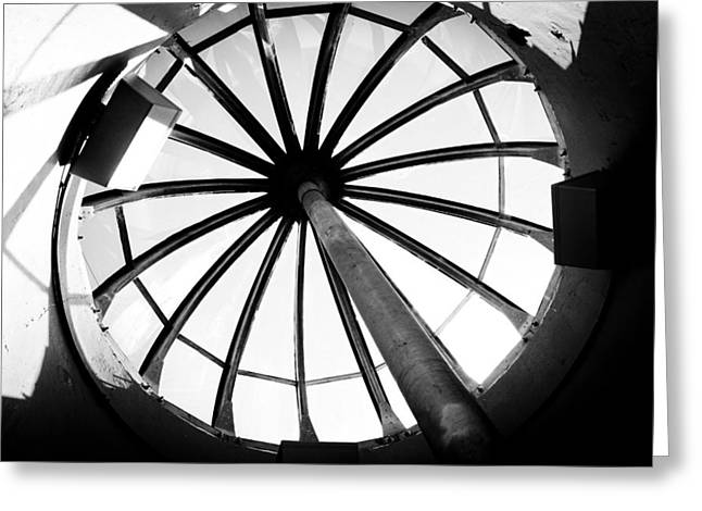 Pictures Of Oregon Greeting Cards - Astoria Column Dome Greeting Card by Aaron Berg