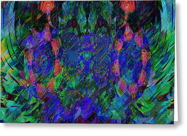 Artowrk Greeting Cards - Astral Trip Greeting Card by Angelo Al ansari
