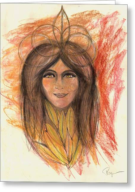 Universal Mother Greeting Cards - Astraline Revisited Greeting Card by Roger Hanson