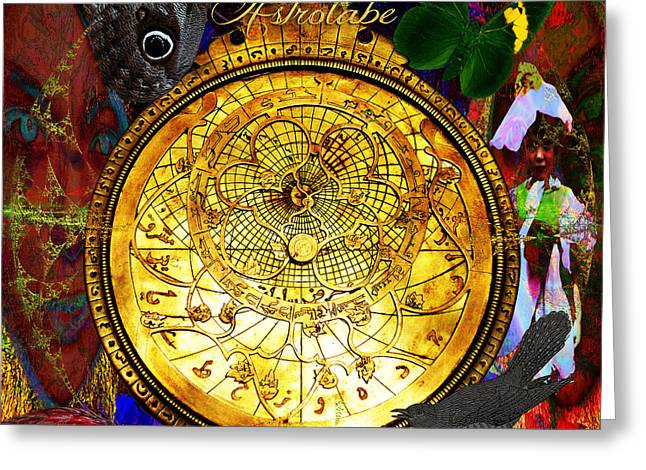 Surveying Greeting Cards -  Solar Astrolabe  Greeting Card by Joseph Mosley