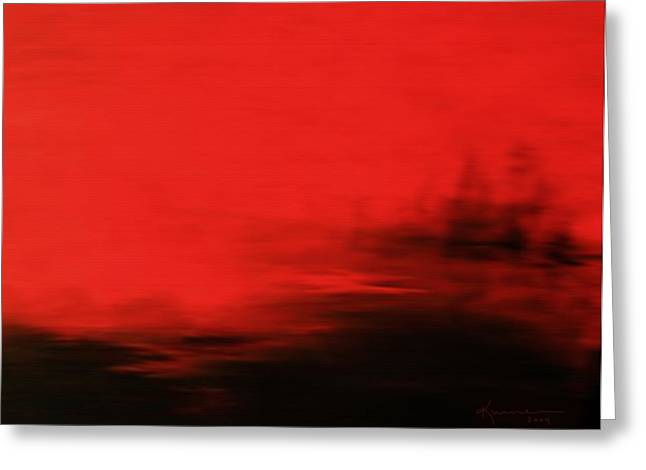 At Dusk Greeting Card by Kume Bryant