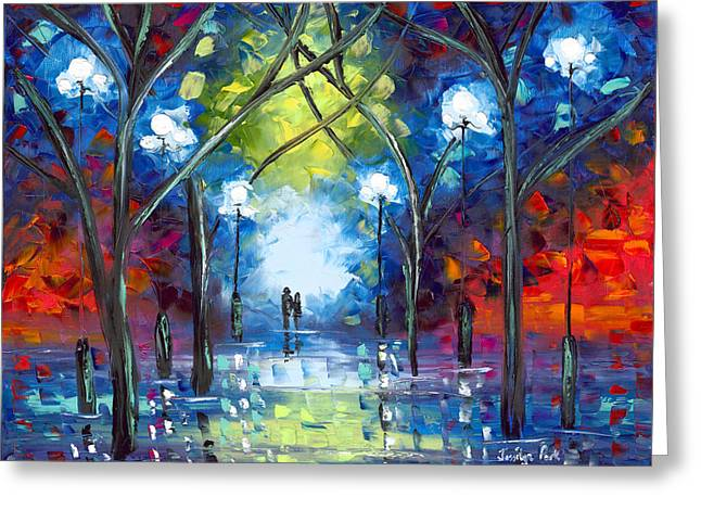 Jessilyn Park Greeting Cards - At Last Greeting Card by Jessilyn Park