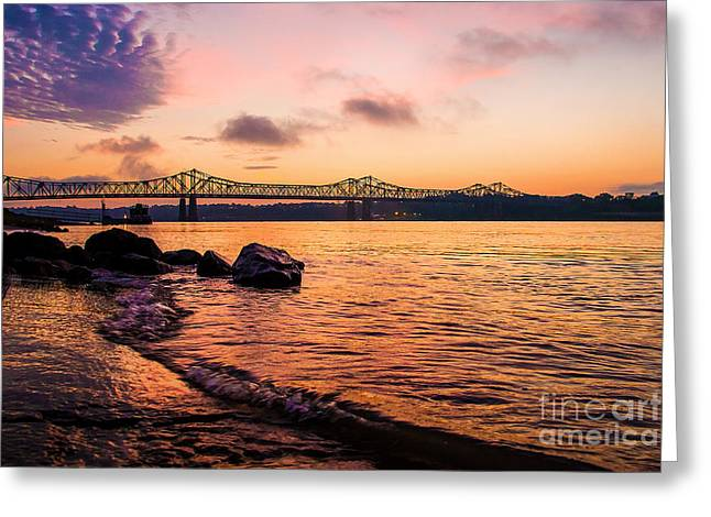 At Morning Light Greeting Card by Jessie Paul
