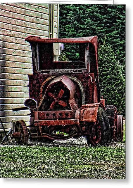Abandond Greeting Cards - At Rest Greeting Card by Ron Roberts