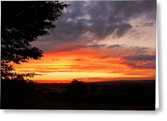 Oberpfalz Greeting Cards - At the End of the Day ... Greeting Card by Juergen Weiss