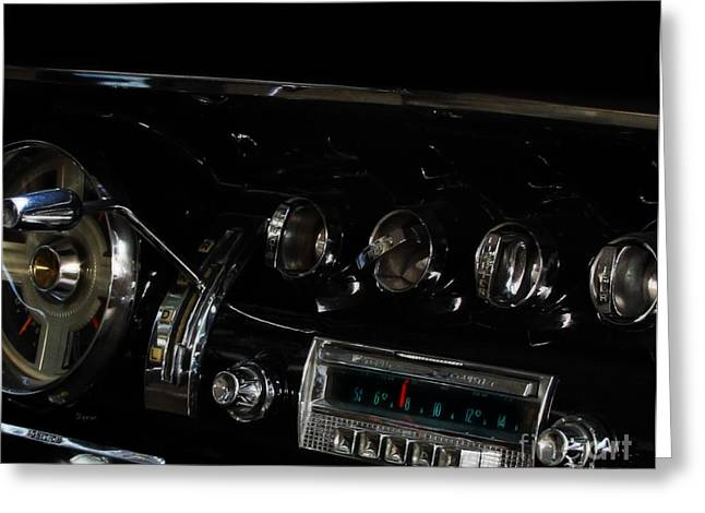 American Automobiles Greeting Cards - At the Sound of 55 Greeting Card by Steven  Digman