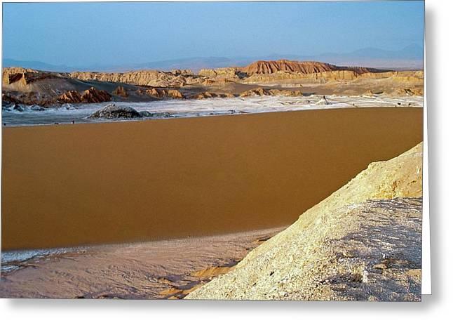 Atacama Desert Greeting Card by European Southern Observatory