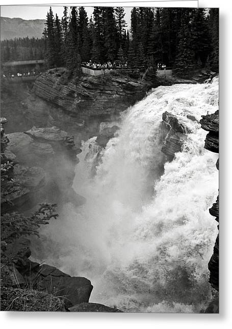 Alberta Water Falls Greeting Cards - Athabasca Falls Greeting Card by RicardMN Photography