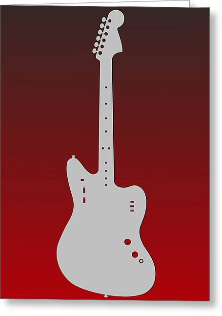 Concert Bands Photographs Greeting Cards - Atlanta Falcons Guitar Greeting Card by Joe Hamilton