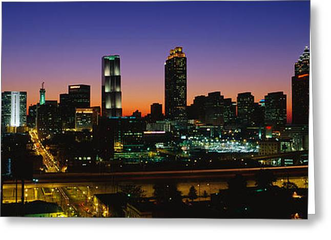 On Location Greeting Cards - Atlanta Ga Greeting Card by Panoramic Images