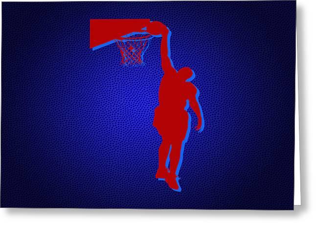 Basketball Print Greeting Cards - Atlanta Hawks Paul Milsap Greeting Card by Joe Hamilton