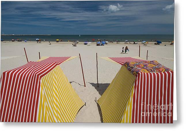 Uruguay Greeting Cards - Atlantic Beach, Uruguay Greeting Card by William H. Mullins