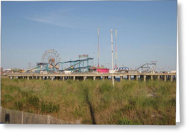 Surf Greeting Cards - Atlantic City - 12121 Greeting Card by DC Photographer