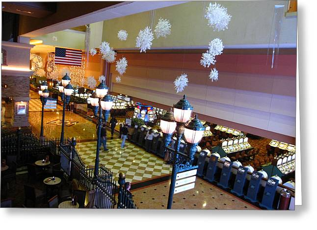 News Greeting Cards - Atlantic City - Casino - 12126 Greeting Card by DC Photographer