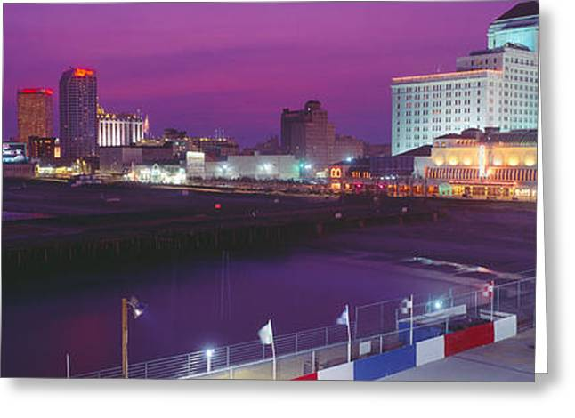 Pastimes Greeting Cards - Atlantic City, New Jersey Greeting Card by Panoramic Images