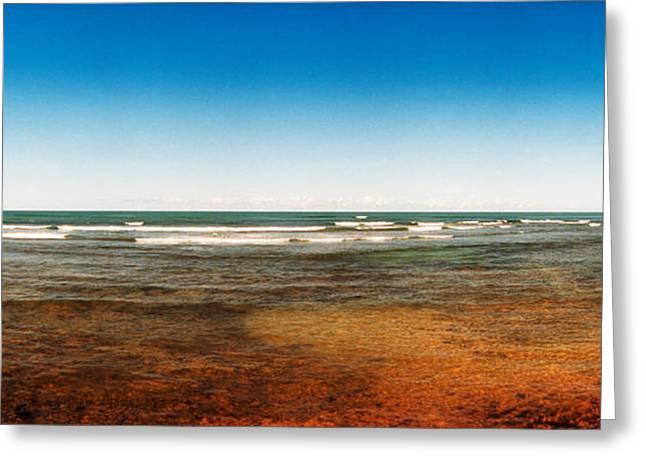 Atlantic Coast, Salvador, Bahia, Brazil Greeting Card by Panoramic Images
