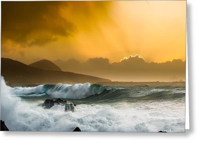 Ocean Photography Greeting Cards - Atlantic i Greeting Card by Chris May