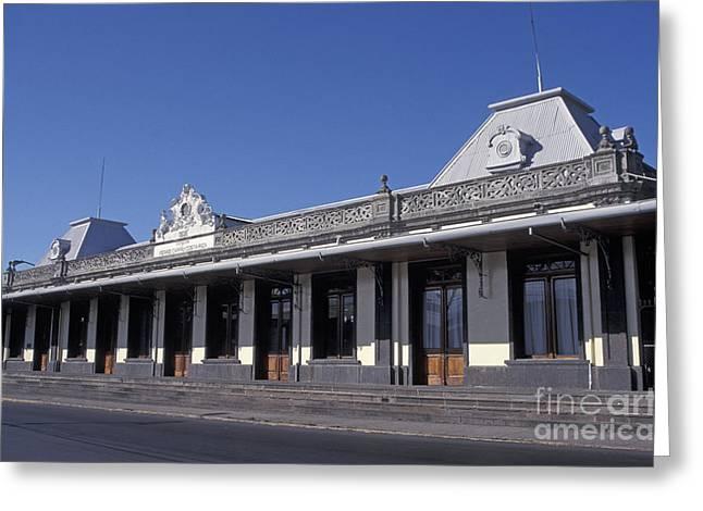 Hostoric Greeting Cards - Atlantic Railway Station San Jose Costa Rica Greeting Card by John  Mitchell