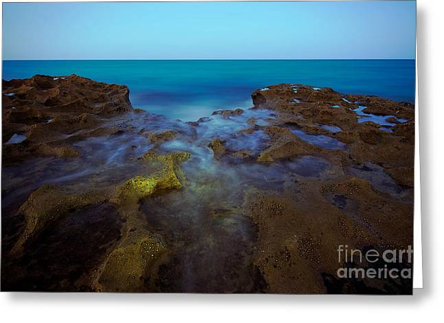 Cliffs Over Ocean Greeting Cards - Atlantic Shores Greeting Card by Dmitry Chernomazov