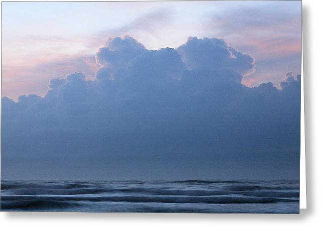 Wrightsville Beach Greeting Cards - Atlantic Storms Greeting Card by JC Findley