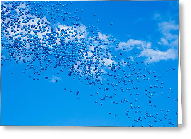 Hovering Greeting Cards - Atmosphere Condenced - Featured 3 Greeting Card by Alexander Senin