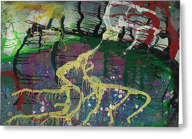 Stellar Paintings Greeting Cards - Attacking Your Roots Greeting Card by Anonymous