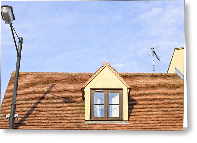 Attic Greeting Cards - Attic room  Greeting Card by Tom Gowanlock