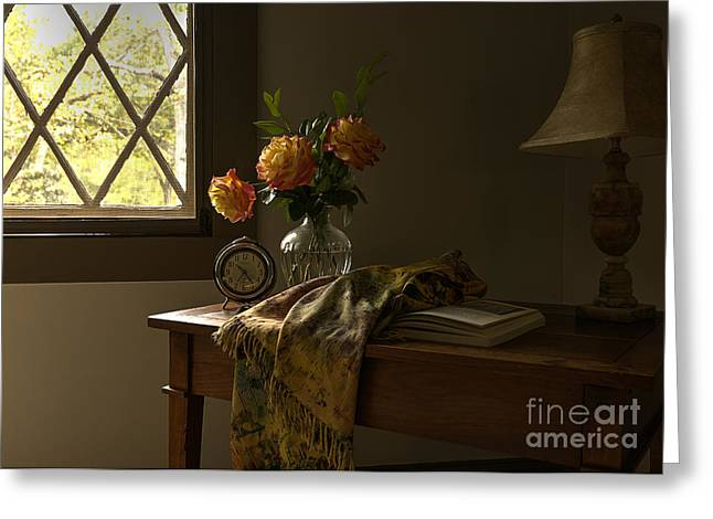 Staging Art Greeting Cards - Attic Sanctuary Greeting Card by Terry Rowe