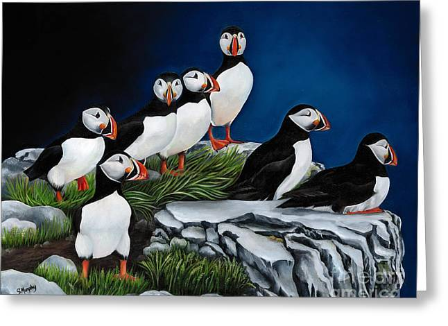 Recently Sold -  - Ledge Greeting Cards - Attitude Greeting Card by Susan Murphy