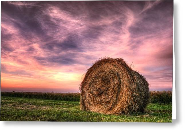Tonemapping Greeting Cards - Atumn Field Greeting Card by Steffen Gierok