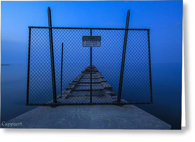 Shorewood Greeting Cards - Atwater Pier Greeting Card by Anna-Lee Cappaert