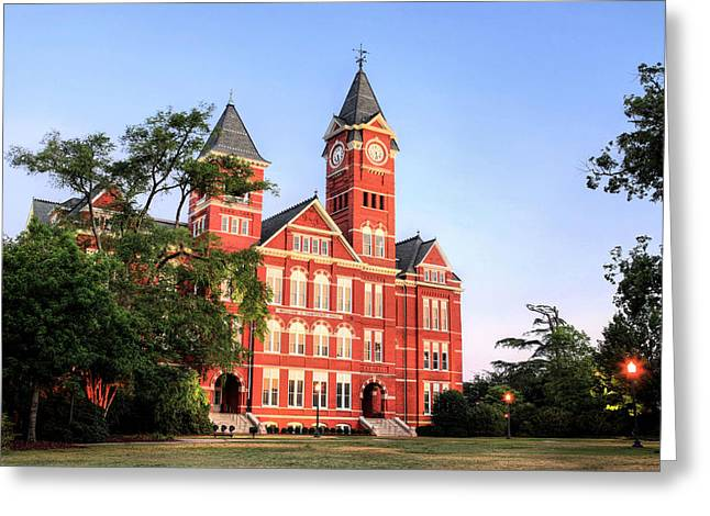 Auburn Greeting Cards - Auburn Greeting Card by JC Findley