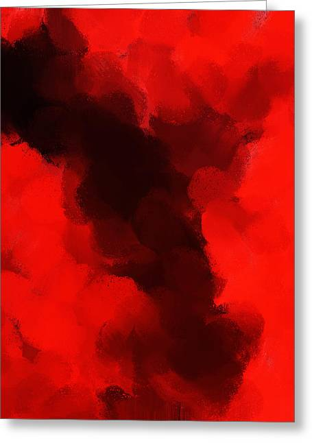 Abstract Digital Drawings Greeting Cards - auction M B 176 Greeting Card by Sir Josef  Putsche