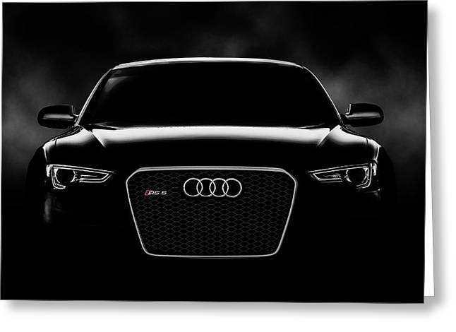 Garage Greeting Cards - Audi RS5 Greeting Card by Douglas Pittman
