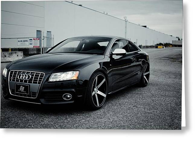 Art Work Greeting Cards - Audi S5 Greeting Card by Art Work