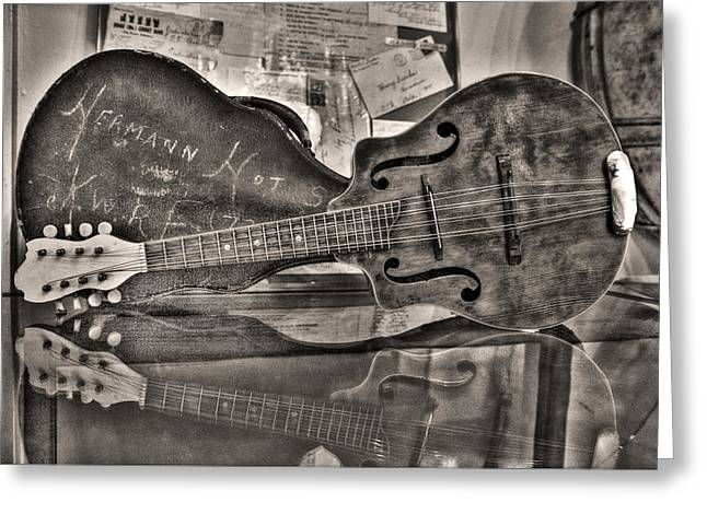 Sharpie Art Greeting Cards - Aunt Pearls Mandolin Greeting Card by William Fields