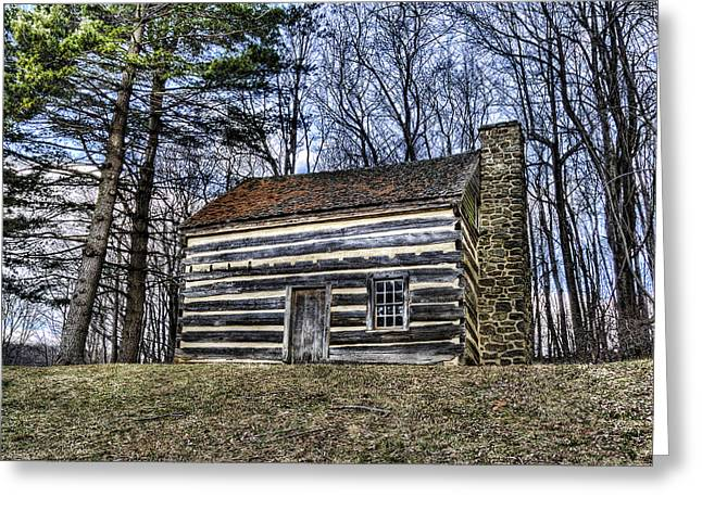 Historic Home Greeting Cards - Aunt Pollys Ordinary Greeting Card by Steve Hurt