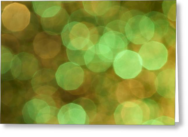Aura Greeting Card by Jan Bickerton