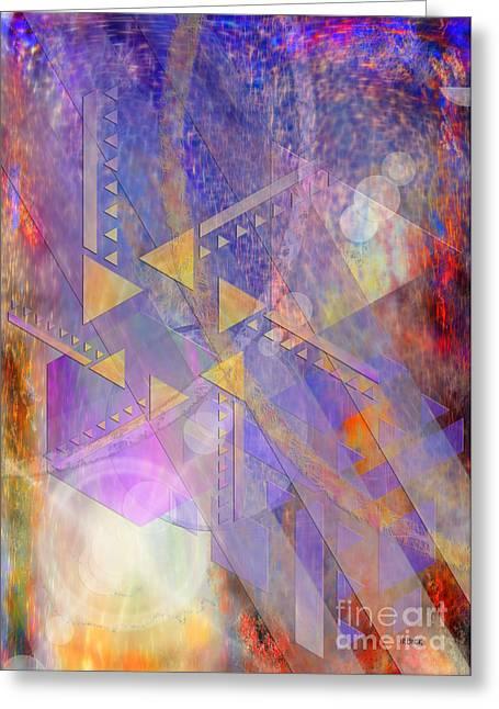 John Robert Beck Greeting Cards - Aurora Aperture Greeting Card by John Robert Beck