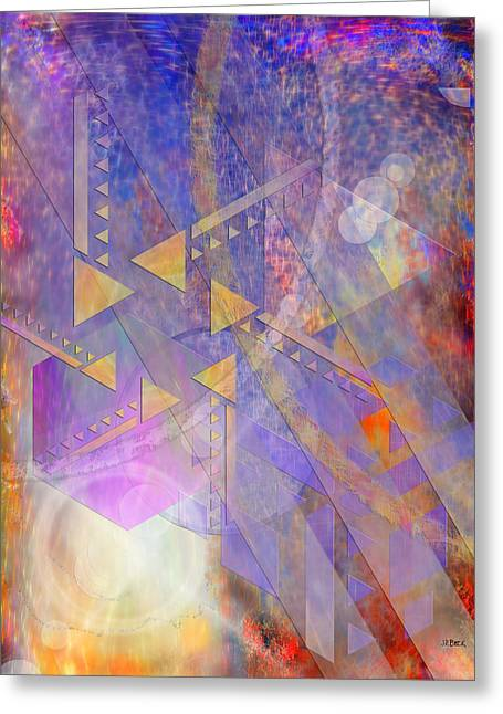 Goff Greeting Cards - Aurora Aperture - Special Edition Greeting Card by John Robert Beck