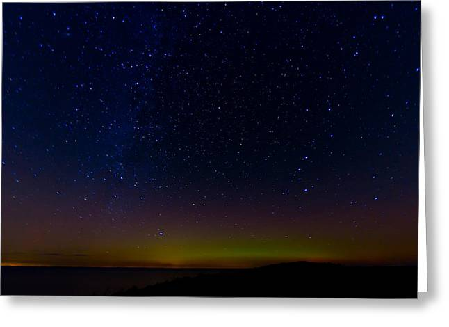 Northern Polar Lights Greeting Cards - Aurora Greeting Card by Gert Lavsen